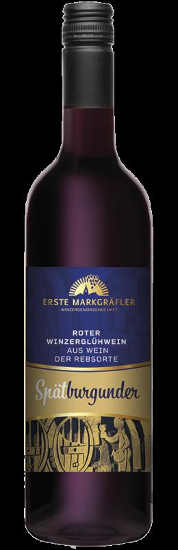 Roter Winzerglühwein Spätburgunder Premium Glühwein Baden