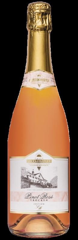 Edition Schloss Bürgeln Pinot Rosé Winzersekt b. A. trocken