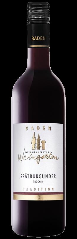 Weinmanufaktur Weingarten Spätburgunder Tradition Rw Qw trocken
