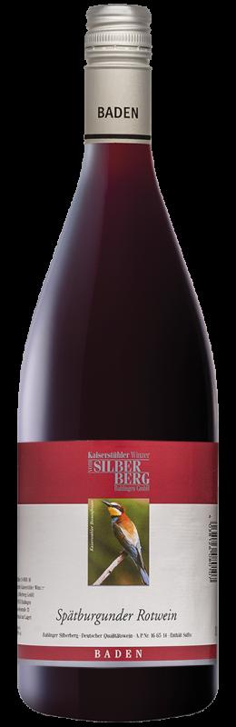 Silberberg Weinkeller Spätburgunder Rw Qw halbtrocken