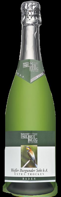 Silberberg Weinkeller Weißer Burgunder Sekt b. A. extra trocken