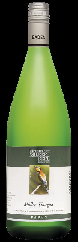 Silberberg Weinkeller Müller-Thurgau Qw Baden halbtrocken
