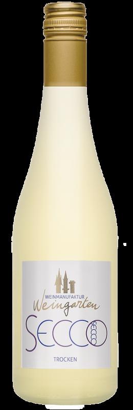 Weinmanufaktur Weingarten Secco Weiß Perlwein