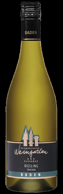 Weinmanufaktur Weingarten Riesling Elegance Qw Baden trocken