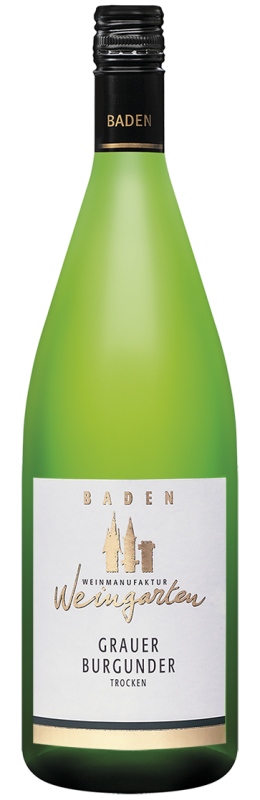 Weinmanufaktur Weingarten Grauer Burgunder Qw Baden trocken