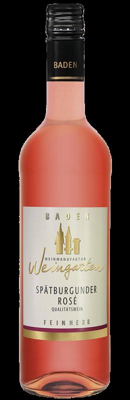 Weinmanufaktur Weingarten Spätburgunder Rosé Feinherb Qw Baden