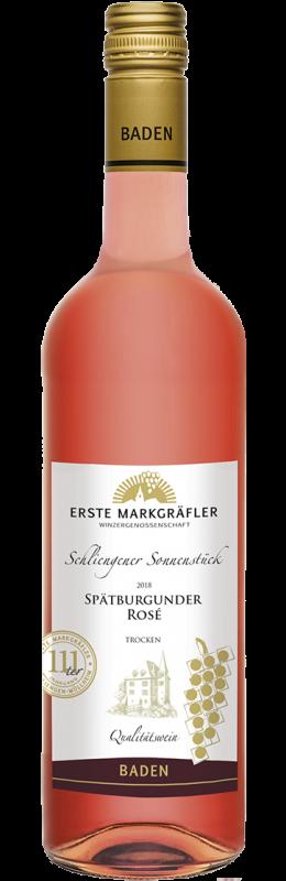Schliengener Sonnenstück Spätburgunder Rosé Qw Baden trocken