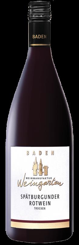 Weinmanufaktur Weingarten Spätburgunder Rw Qw Baden trocken