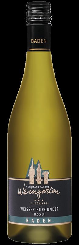 Weinmanufaktur Weingarten Weißer Burgunder Elegance Qw Baden trocken