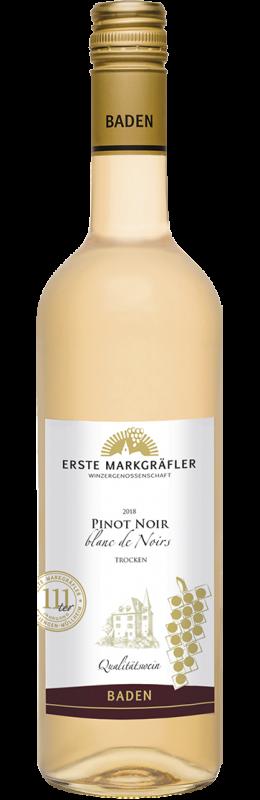 Erste Markgräfler Pinot Noir – Blanc de Noirs Qw Baden trocken
