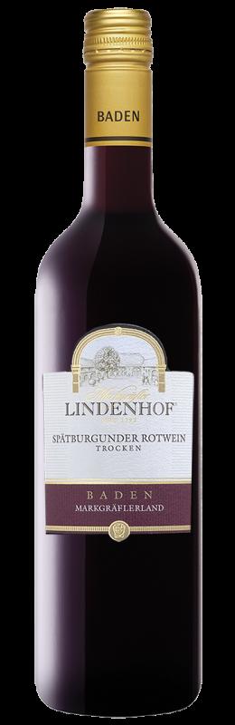 Lindenhof Spätburgunder Rotwein Qw Baden trocken
