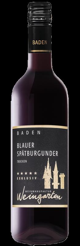 Weinmanufaktur Weingarten Spätburgunder Exklusiv Rw Qw Baden trocken