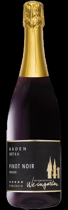 Weinmanufaktur Weingarten Pinot Noir Sekt b. A. trocken