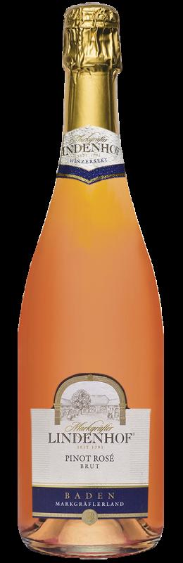 Lindenhof Pinot Rosé Winzersekt b. A. Baden brut