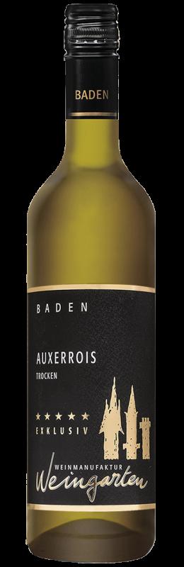 Weinmanufaktur Weingarten Auxerrois Exklusiv Qw Baden trocken