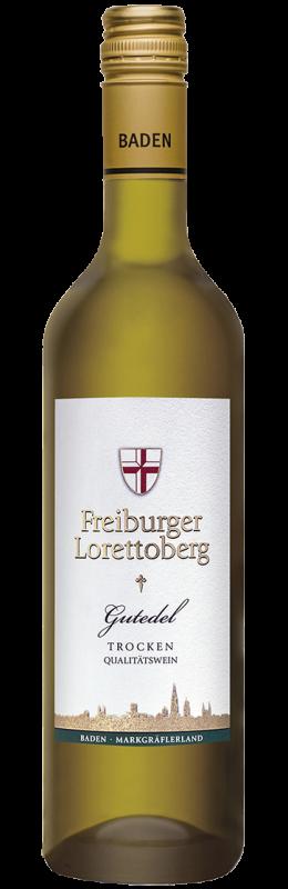 Freiburger Lorettoberg Gutedel Qw Baden trocken 0,75 l