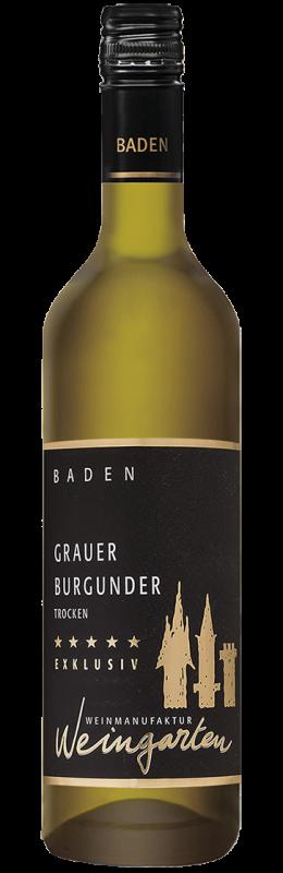 Weinmanufaktur Weingarten Grauer Burgunder Exklusiv Qw Baden trocken